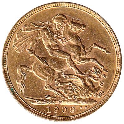 British sovereign coin