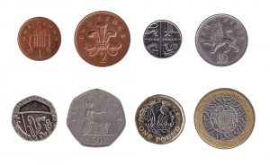Pound Sterling coins accepted for exchange