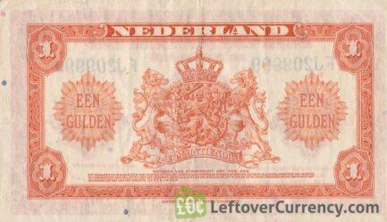 1 Dutch Guilder banknote (Muntbiljet 1943)