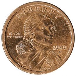 1 United States Dollar coin (Sacagawea)