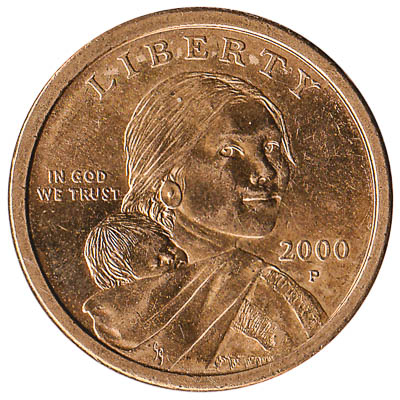1 United States Dollar coin (Sacagawea)