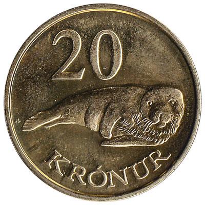 20 Faroese Kronur coin