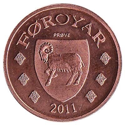 25 Faroese Oyru coin