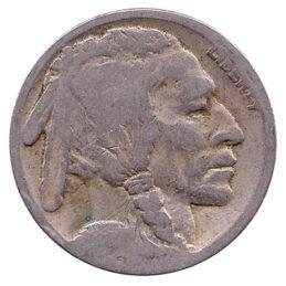 5 Cents coin US Buffalo nickel (Indian Head)
