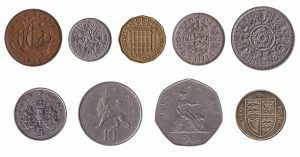 withdrawn pound sterling coins