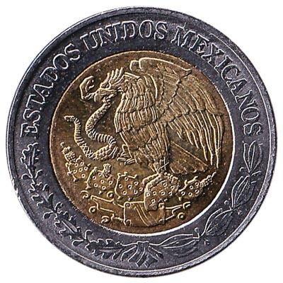 1 Mexican Peso coin