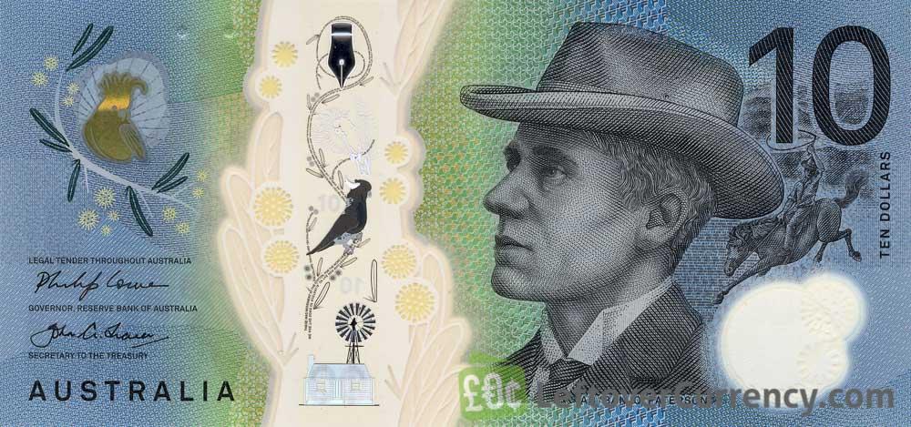 10 Australian Dollars banknote series 2017