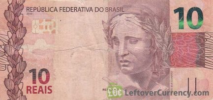 10 Brazilian Reais banknote (2010 issue)