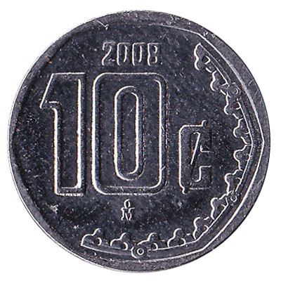 10 Centavos coin Mexico