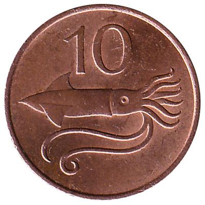 10 Icelandic Aurar coin