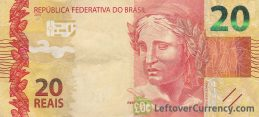 20 Brazilian Reais banknote (2010 issue)