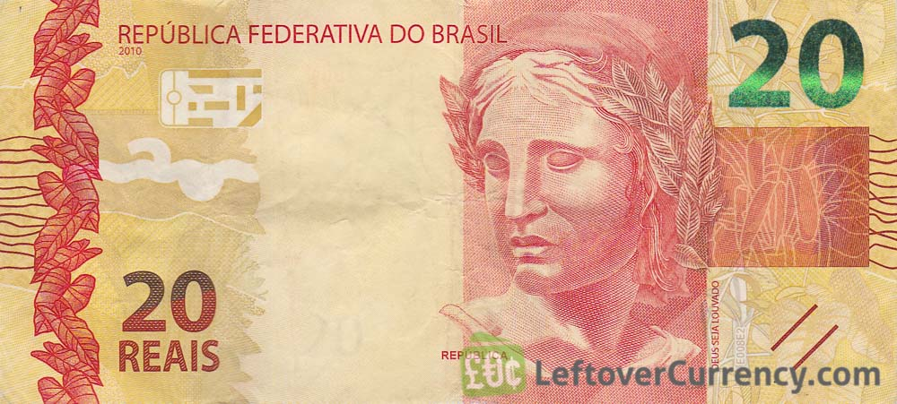 20 Brazilian Reais Banknote 2010 Issue