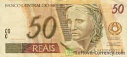 50 Brazilian Reais banknote