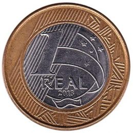 Brazil 1 Real coin