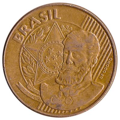 Brazil 25 Centavos coin