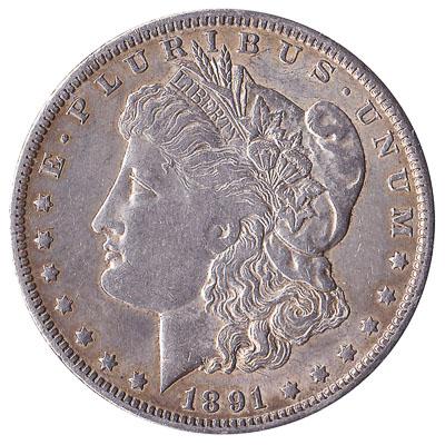 United States Morgan silver dollar