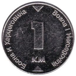 1 Marka Bosnian Convertible Mark coin
