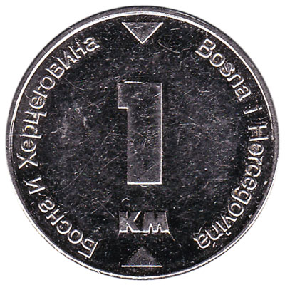 1 Marka Bosnian Convertible Mark coin