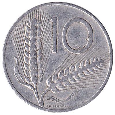 10 Italian Lire coin