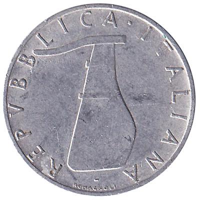 5 Italian Lire coin