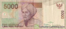 5000 Indonesian Rupiah banknote (Tuanku Imam Bonjol)