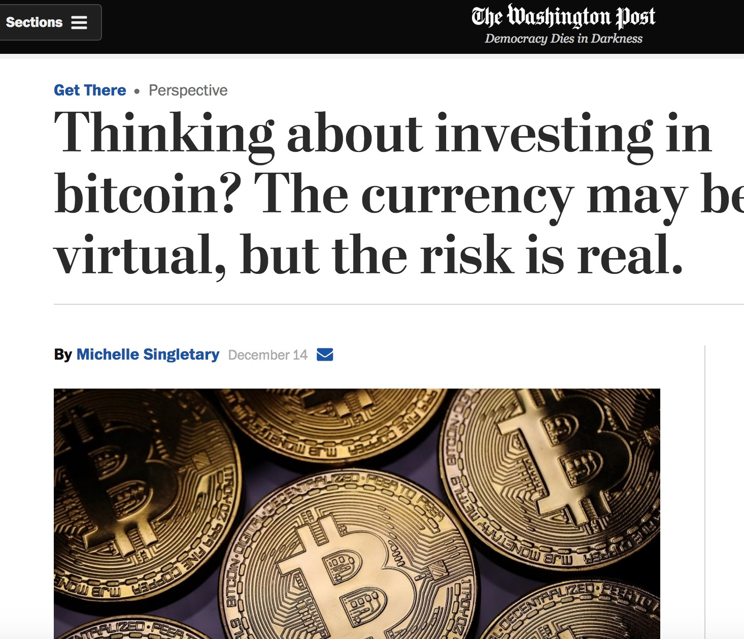 Here Are A Few Examples Of Articles About Bitcoin Illustrated With Images Physical Bitcoins