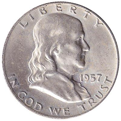 Benjamin Franklin Half Dollar coin