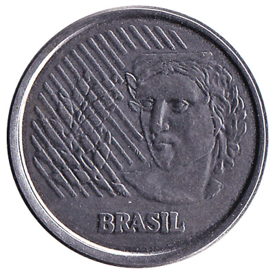 Brazil 1 Centavo coin first series
