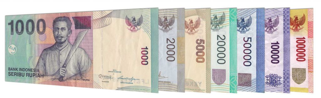 previous series Indonesian Rupiah banknotes