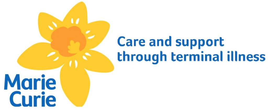 Marie Curie care and support through terminal illness