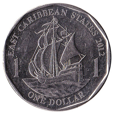 1 dollar coin East Caribbean States