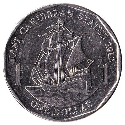 1 dollar coin East Caribbean States