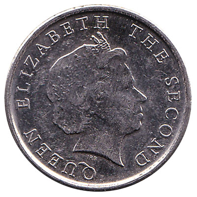 10 cents coin East Caribbean States
