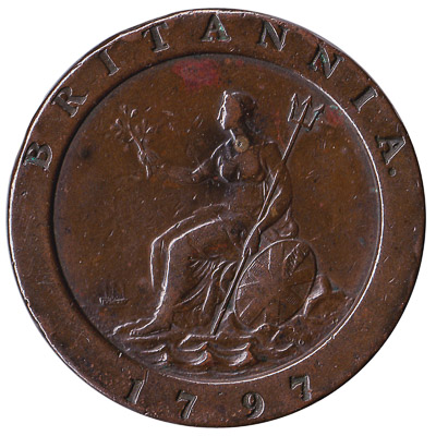 British cartwheel penny