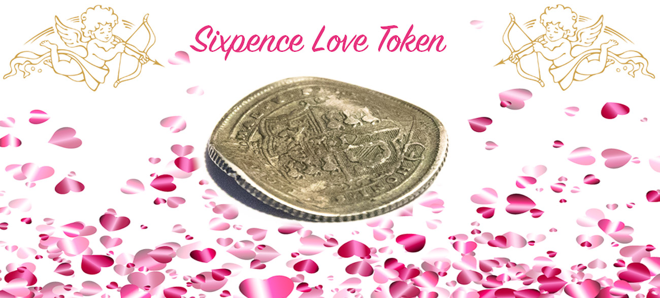 sixpence love tokens