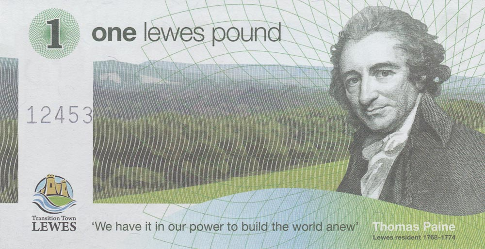 One Lewes Pound Community Currency