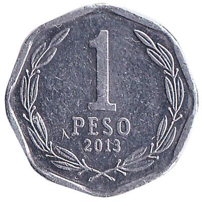1 Chilean Peso coin