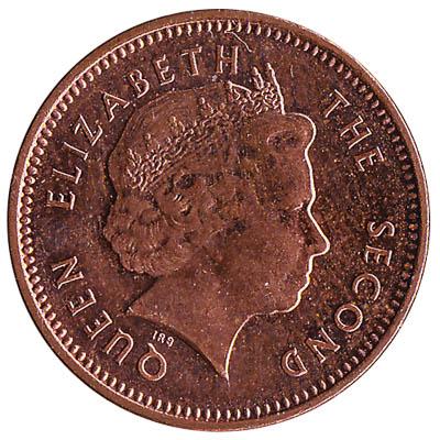 1 penny coin Falkland Islands