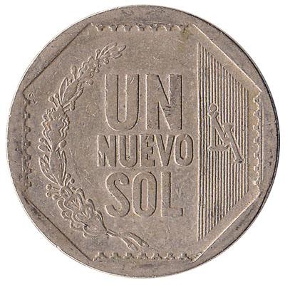 1 Peruvian Nuevos Sol coin