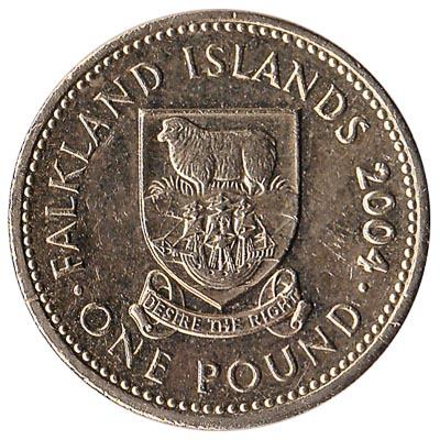 1 pound coin Falkland Islands