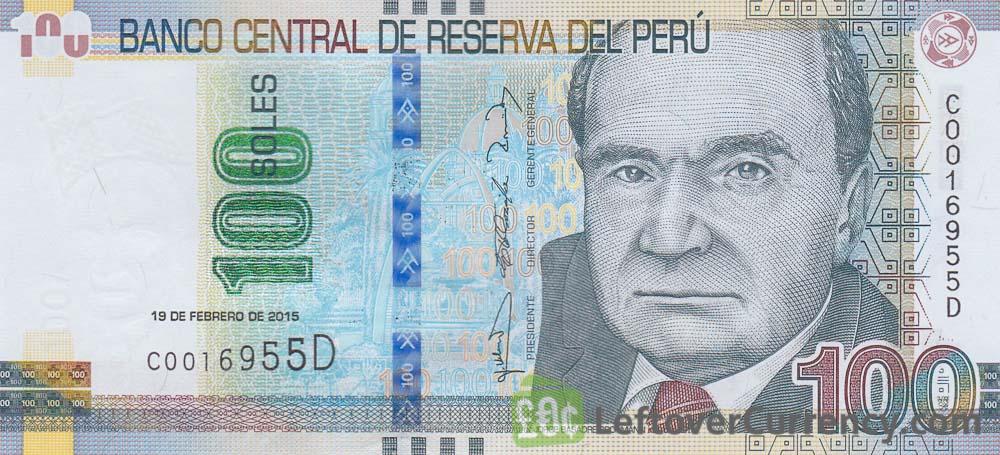 100 peruvian sol banknote jorge grohmann exchange yours for cash 100 peruvian sol banknote jorge grohmann altavistaventures Images