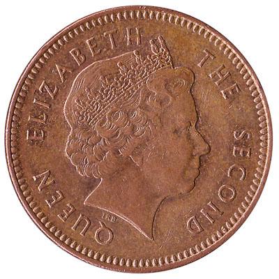 2 pence coin Falkland Islands