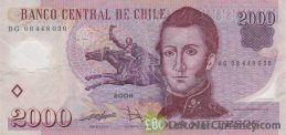 2000 Chilean Pesos banknote (polymer)