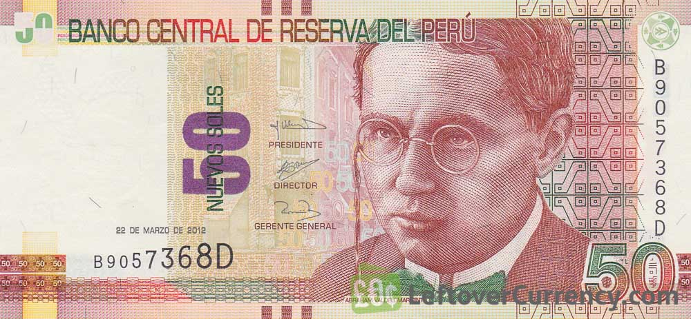 50 peruvian sol banknote abraham pinto exchange yours for cash 50 peruvian sol banknote abraham pinto thecheapjerseys Choice Image