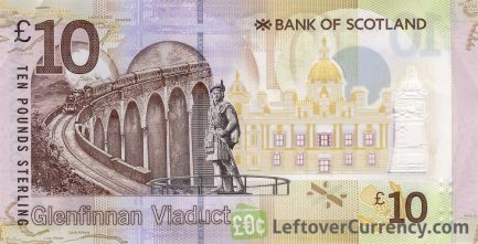 Bank of Scotland 10 Pounds banknote (2016 series)