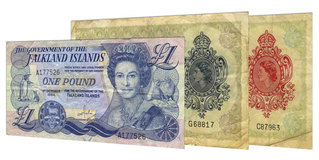 withdrawn Falkland Islands pound banknotes