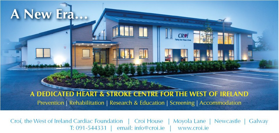 Croi dedicated heart stroke centre West of Ireland