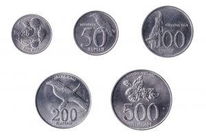 current Indonesian Rupiah coins