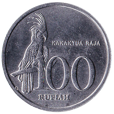 Indonesia 100 Rupiah coin