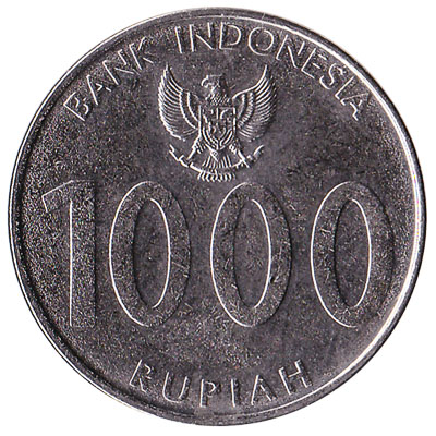 Indonesia 1000 Rupiah coin